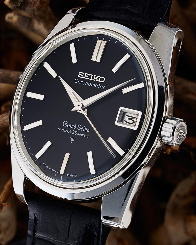 Grand Seiko 43999 black dial