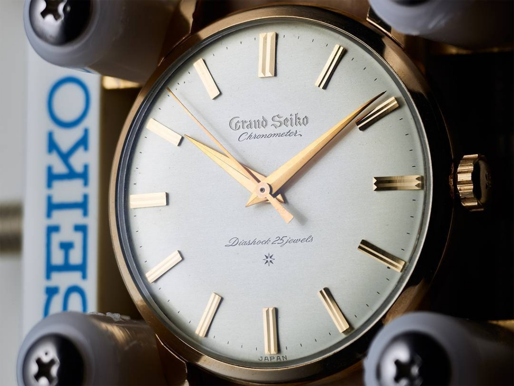 Grand Seiko 3180 with carved dial
