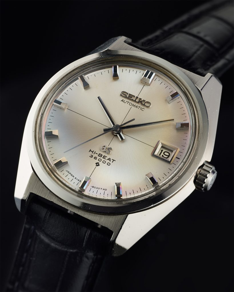 Grand Seiko 6145-8000 cross dial